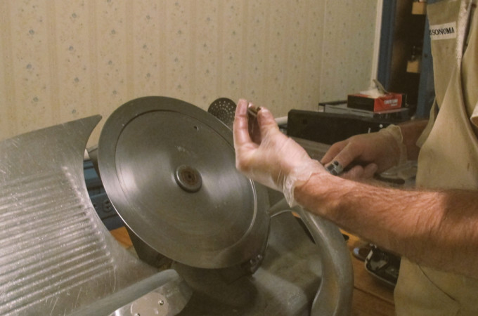 ON BUYING A MEAT SLICER