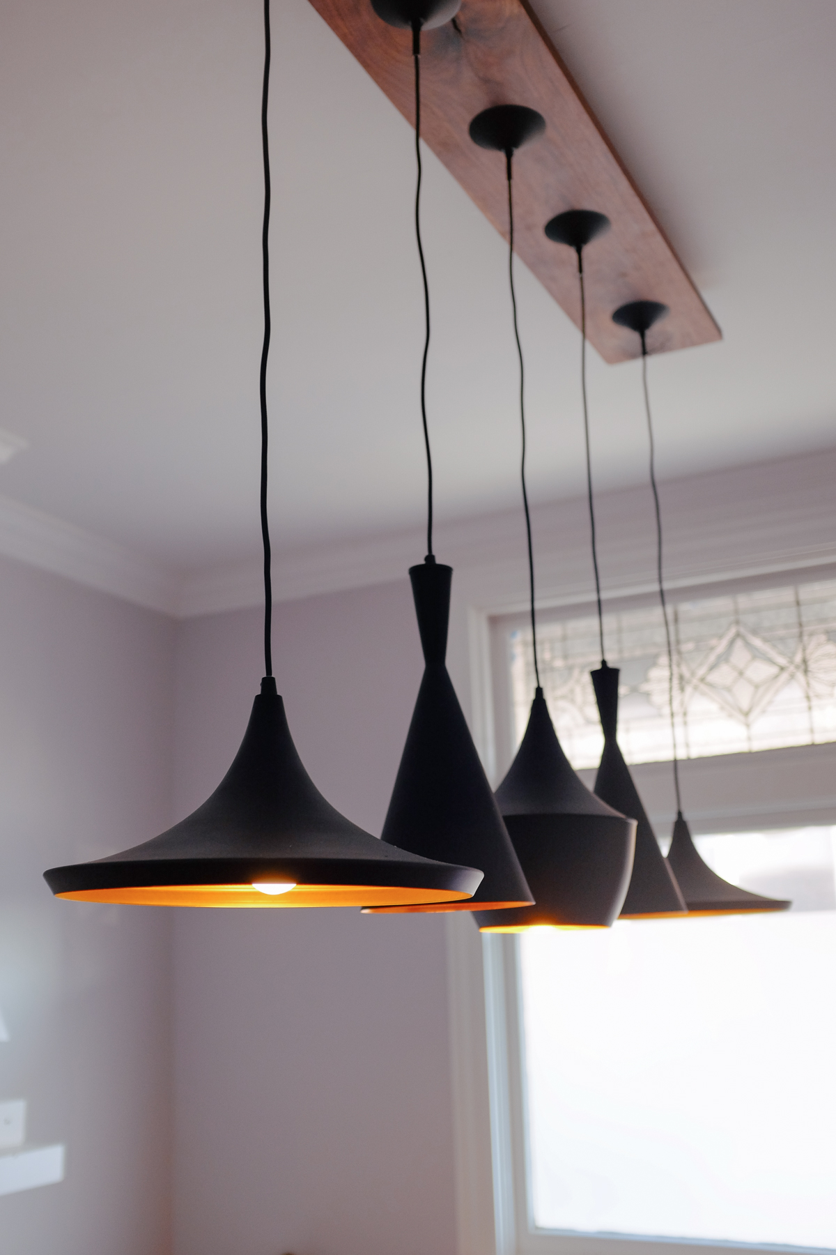 DIY Pendant Light Canopy
