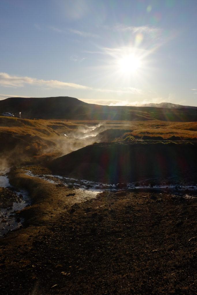 Outside Reykjavik Iceland Hot Springs