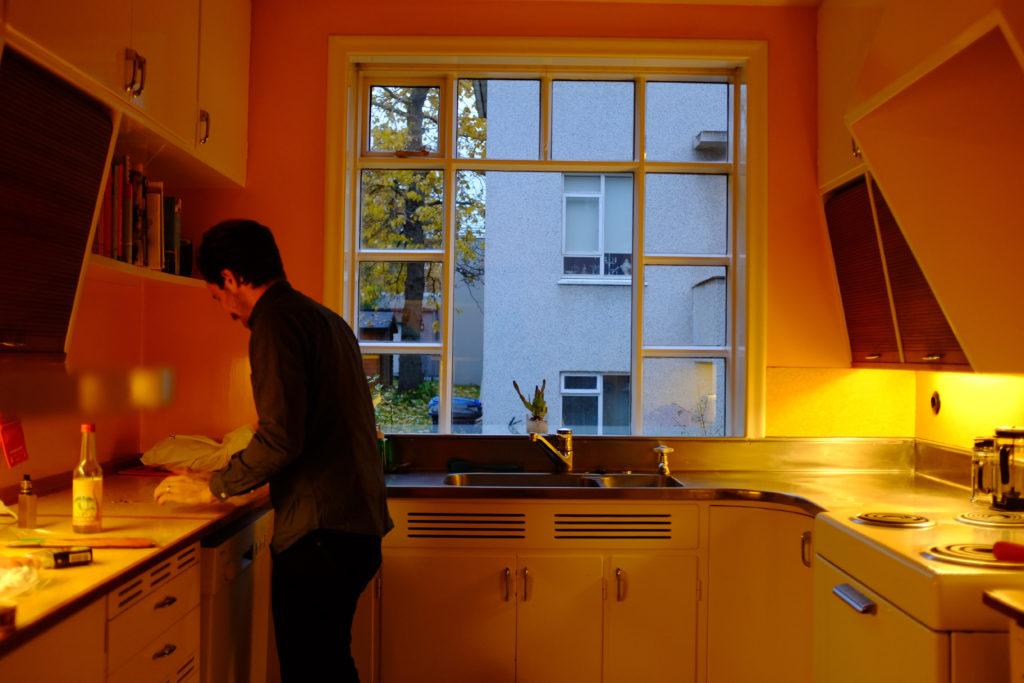 Midcentury Modern Kitchen Airbnb Reykjavik Iceland