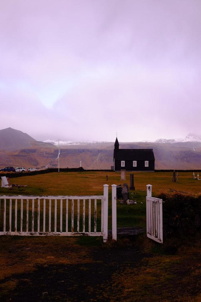 Church Landscape Reykjavik Iceland