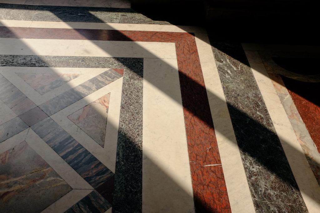 Louvre Floor Detail Paris France Sunlight Photo