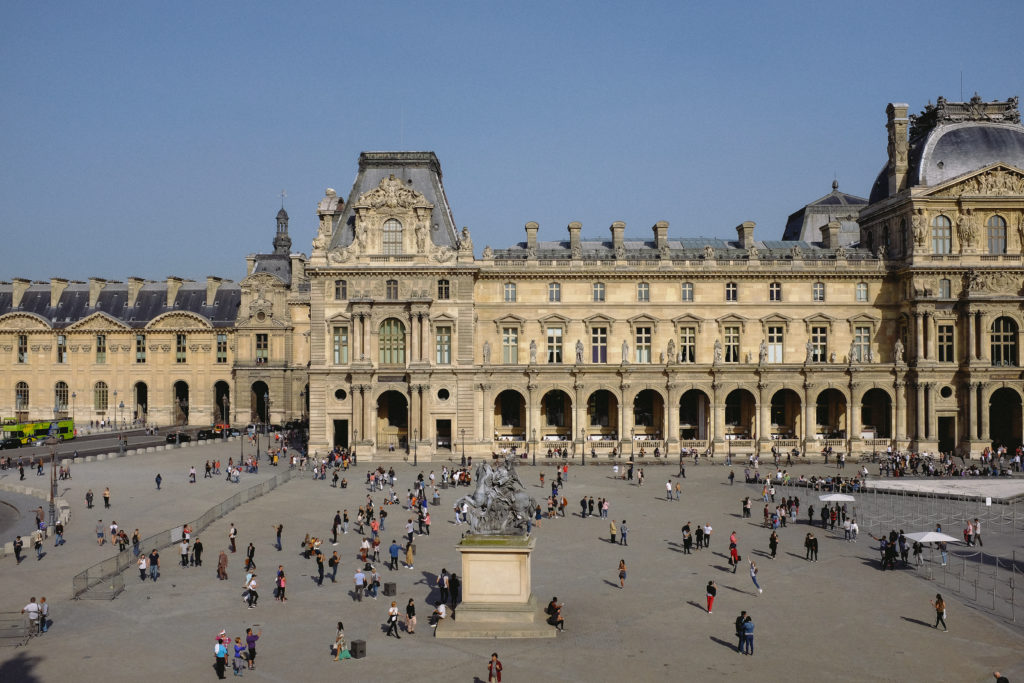 Louvre Outdoor Musee Louvre Paris France