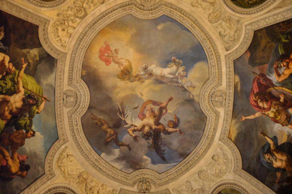the louvre musee paris france fine art