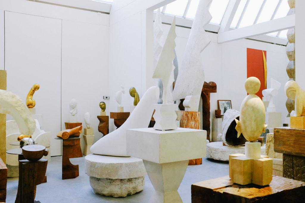 Atelier Brancusi Centre Pompidou paris